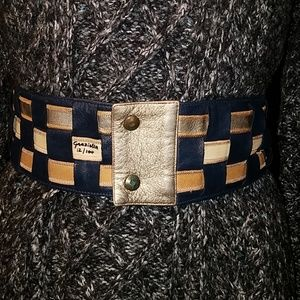 Vintage Limited Edition Woven Leather Belt